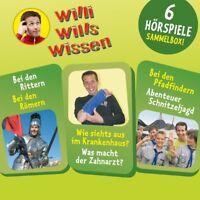 WILLI WILLS WISSEN - (3)SAMMELBOX MIT 6 HÖRSPIELEN  3 CD NEU