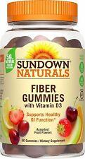 Sundown NaturalsFiber With Vitamin D3, 50 Gummies