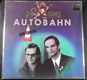 Kraftwerk Pop Lions Autobahn Import LP West Germany 6434 348