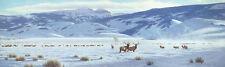 Tucker Smith THE REFUGE MuseumEdition giclee, National Elk Refuge Wyoming #10/10