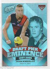 2013 Prime Select Draft Pick Eminence (DPE26) Jason WINDERLICH Essendon