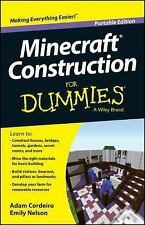 Minecraft Construction for Dummies® by Cordeiro and Emily Nelson (2014,...