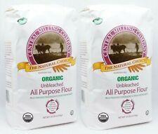 2 BAGS Central Milling Organic Wheat Flour 10 LBS EACH exp 04/2021