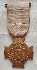 Médaille SAUVETAGE SOCIÉTÉ DE SAUVETEURS à identifier bronze doré France