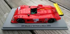 Spark 1/43 WR Mazda Petit Le Mans 2003 Jim Downing