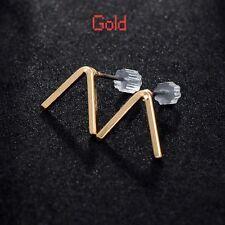 Fashion Jewelry Retro Ear Stud Simple V-shape Earrings