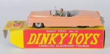 Dinky 131 Cadillac Eldorado Tourer. Salmon. Rare Spun Hubs. Very Near-MINT/Boxed