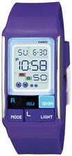 Casio Women's Poptone Purple LCD Alarm Day Date 50m Digital Watch Ldf52-6a