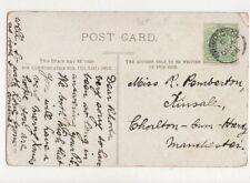 Miss Rhoda Pemberton Kinsale Chorlton Cum Hardy 1906  775a