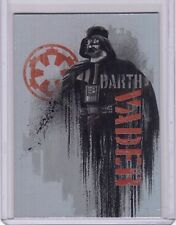 DARTH VADER 2016 Topps Star Wars Rogue One Continuity #5 Foil Insert Card SP
