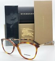 NEW Burberry RX frame BE2128 3316 52mm Tortoise Cat eye 2128 Classic Oval Unisex