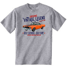 VINTAGE AMERICAN CAR INSPIRED CHEVROLET EL CAMINO 1 - NEW COTTON T-SHIRT