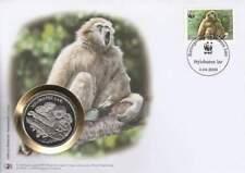 Numisbrief WWF 2008 Lao - Hylobates Lar / Gibbon (029)