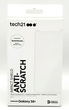 New Easy Apply Screen Protector by Tech21 Anti-Scratch for Samsung Galaxy S8+