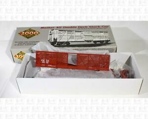 Proto 2000 HO 40' Mather Stock Car Gulf Mobile and Ohio 109013 Kit