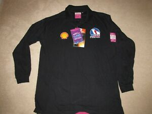 Portwest Flame Resistant Anti-Static Long Sleeve Polo Shirt FR10 with SHELL&ASIG