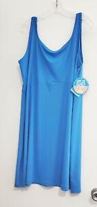 Columbia Womens Plus Size PFG Freezer III Dress Azure Blue Sz 1X - NWT