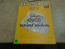 Honda CIVIC Used Service Manual VP 1977 VP-CM359
