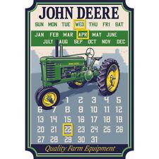 John Deere Die Cut Calendar Magnets-LP69370