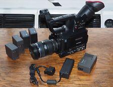 Panasonic AG AF101E kit completo di Zuiko 12-60 f2,8 e accessori