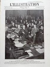 L' ILLUSTRATION 1924 N 4251 FIN DE LA CONFERENCE DE LONDRES , AU FOREIGN OFFICE