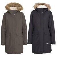 Trespass Womens Parka Jacket Waterproof Longline Winter Warm Coat