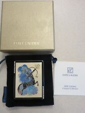 ESTEE LAUDER ZODIAC SAGITTARIUS BY ERTE ART DECO LUCIDITY POWDER COMPACT NEW