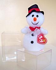 VTG 1st Ed. ©1996 TY ORIGINAL BEANIE BABY SNOWBALL w/ TAG ERRORS - MINT RETIRED