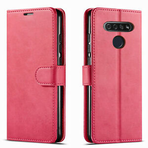 For LG Phoenix 5 /K31 Rebel Phone Case, Wallet Cover + Tempered Glass Protector