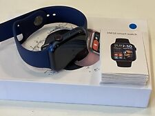 Series 6 Smart Watch 2021 HW16 Blue For Apple Iphone Android IOS 44 mm Full HD