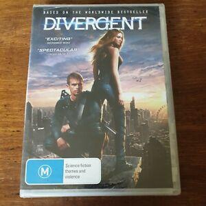 Divergent DVD R4 BRAND NEW SEALED! FREE POST
