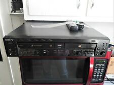 Sony Rcd-W500C Cd Changer and Recorder with Remote
