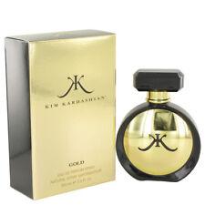 KIM KARDASHIAN GOLD 100ML EAU DE PARFUM EDP SPRAY NEW SEALED BOX GENUINE PERFUME