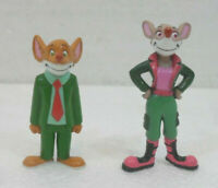 Geronimo e Tea Stilton mini figures cm. 5 e 5,5 circa