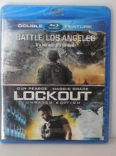 Battle: Los Angeles / Lockout Double Feature (Blu-Ray) NEW