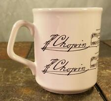 Chopin's Étude Op. 10 No. 3 - Piano Composer Music Song Lyrics - Coffee Mug Cup
