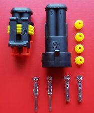 Airbag Stecker universell 2 Pin / Airbag Widerstand Verbinder alle PKW