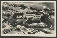 Postcard Christchurch nr Bournemouth Dorset early Aerial View of town RP
