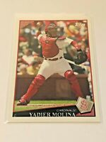 2009 Topps Baseball Base Card #172 - Yadier Molina - St. Louis Cardinals