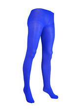 Blue Ladies Tights Smurf Gnome Christmas Elft Accessory Womens Fancy Dress