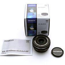 OLYMPUS M.ZUIKO DIGITAL ED 14-42mm F3.5-5.6 EZ Lens for Micro 4/3 Black Japan