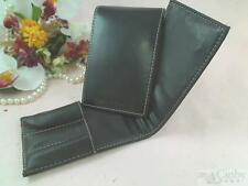 Bobbi Brown Black Faux Leather Holder Case for Travel Size Brushes