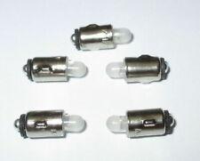"""LED Ersatzlampen BAS 5 mit Knagge ( Märklin 600150 ) 16-24V  -  5 Stück   """"NEU"""""""