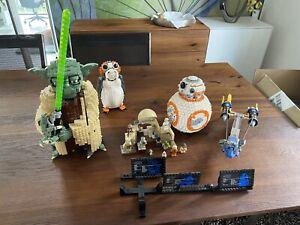 lego star wars sammlung Yoda, BB-8, Porg und mehr