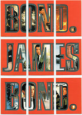 JAMES BOND GOLDENEYE SET OF 9 BOND JAMES BOND CARDS