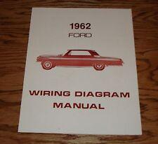 1962 Ford Car Wiring Diagram Manual 62