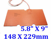 MendelMax 3 3D Printer Silicone Heated Bed Build Plate Heater 240mm x 310mm 24V