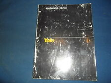 YALE FE & F2 4 CYLINDER GASOLINE LPG ENGINE MAINTENANCE MANUAL BOOK 1494