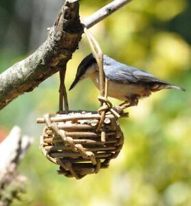 Handmade Willow Bird Feeder
