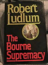 The Bourne Supremacy by Robert Ludlum (1986, Hardcover, first edition)